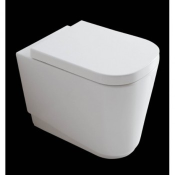 MEG11 WC SCARICO UNIV. S/P 55x35 BN GLS5409
