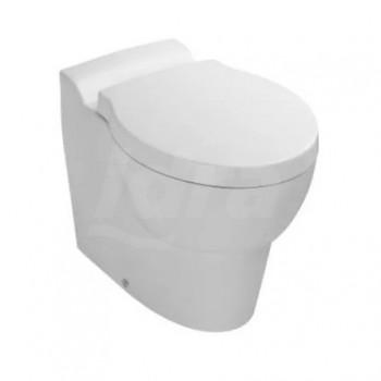 Ove vaso uni. (55,5x35,5cm) con sedile. Bianco KLR19965W-00