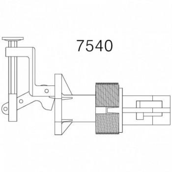 PULSANTE C/PROLUNGA 3cm X CASS. PULS. BASSO TIRPUCC7540