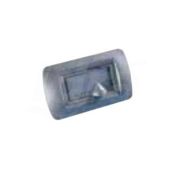 Presa di aspirazione AXL MC d.32 con micro con chiusura a chiave colore bianco, placca elettrica NON fornita ALD22511383