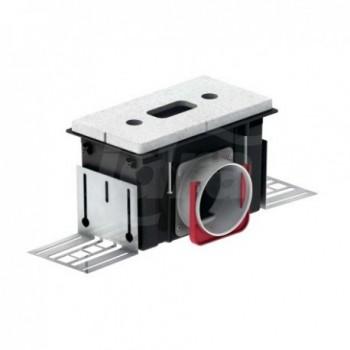 Bocchetta incasso CLD-D 75 mandata/ripresa, max 30 mc/h, dimensione 224x118x85mm, connessione lato da 118mm 990320810