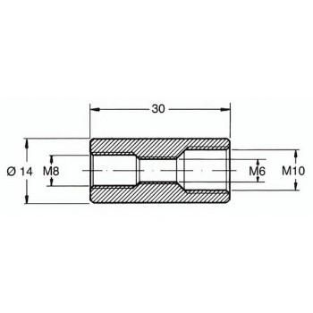 ANR MANICOTTO L.30mm X RIDUZIONI GIA163250