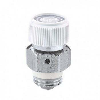 5080 Valvolina automatica igroscopica 1/4 M di sfogo d'aria per radiatori. Filetto a tenuta PTFE 508021