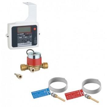 """7554 Contatore di calore diretto CONTECA, contatore di calore diretto per impianti a zona e centrali termiche. 1/2"""" monogetto..."""