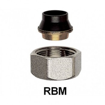 RACCORDO ADATT. X TUBO RAME ø12+OGIVA NITRILE 00411220 - Mecc. c/ogiva OT per rame