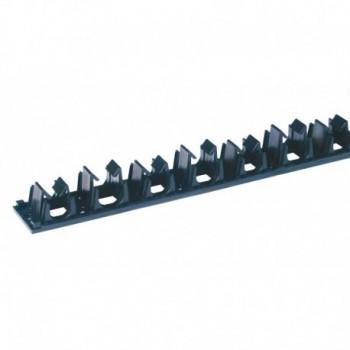 BINARIO C/AD. PASSO 50 X FISS. TUBO ø16-17mm 08621610 - Barre di supporto/fissaggio