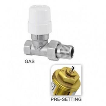 """Valvola termostatizzabile con pre-regolazione diritta per tubo ferro ø1"""" RBM26410690"""