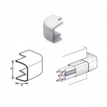 ANGOLO ESTERNO 90° PVC RAL9010 125x75mm 9803-113-08