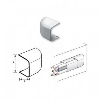TAPPO TERMINALE PVC RAL9010 35x30mm 9810-114-08 - Canaline per tubi