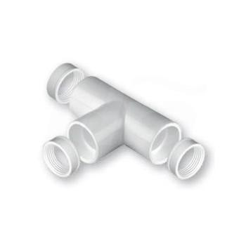 Raccordo A TEE PVC ø32mm con o-ring NIC9905-105-08