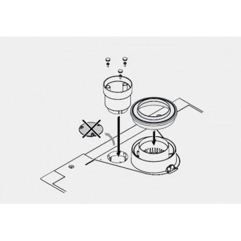 KIT PART. FUMI/ASPIRAZIONE SDOPP. 60/80 3123574 - Accessori