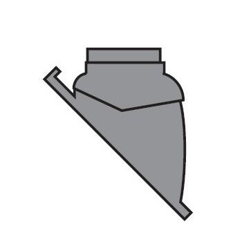 TEGOLA X TETTI INCLINATI (25°÷45°) NERA VLT303980