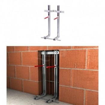 Sistema di fissaggio LC Plus Fischer - traversa sagomata 501026 - Materiali di consumo