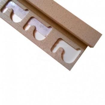 Profilo ad angolo retto per rivestimento Projolly Square PJQA10SL02 H. 10 mm. PPFPJQA10-SL02