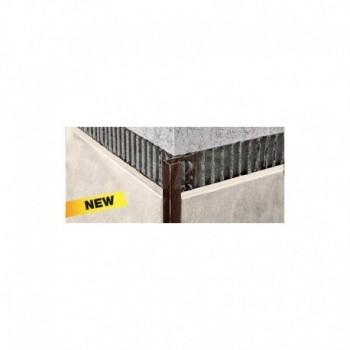 PROJOLLY SQUARE-ALL-H:10mm VERNICIATO Profilo a forma di angolo retto per proteggere gli angoli esterni dei rivestimenti, per...