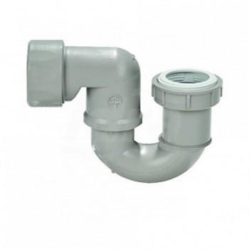 """Sifone per vasca da bagno per collegamento a colonne vasca 11/2""""-11/4""""x40 mm GEB150.081.00.1"""