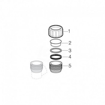 Dado di premistoppa d 110 mm GEB367.780.16.1