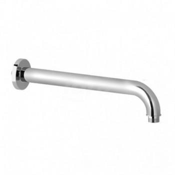 Braccio doccia tondo, Braccio doccia ottone 185 mm, Finitura Cromo ERCBNBRACBR35