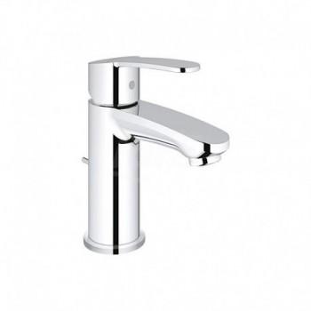 Eurostyle Cosmopolitan, Miscelatore rubinetto Monocomando Lavabo 28 mm, Cromo, Taglia S 23037002 - Per lavabi