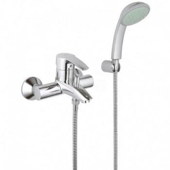 Miscelatore rubinetto Monocomando Vasca Dotazione Doccia, Cromo 33592001