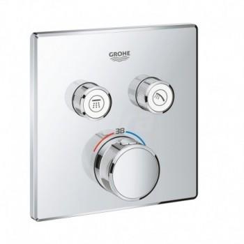 Miscelatore rubinetto Termostatico a 2 Vie, Cromo 29124000 - Gruppi per docce
