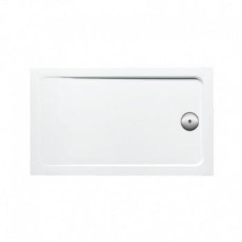 Flight piatto doccia (100x76x4 cm extra slim). Bianco KLR12988W-00