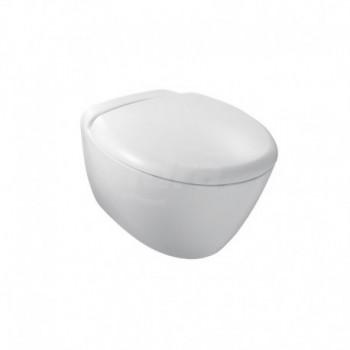 Presqu'Ile wc vaso sospeso (55x38cm) con sedile. Bianco KLR3992K-00