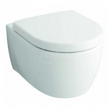 Fast wc vaso sospeso RIMFREE completo di sedile, bianco POG78355000
