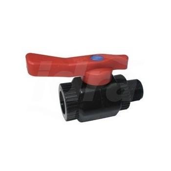 """RUB-075-MF-B rubinetto a sfera PPCV ø3/4""""F x 3/4""""M DTG934010"""