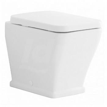 NOVECENTO wc 35x54 scarico universale con sedile bianco POG40340000
