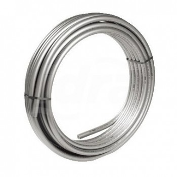 Rotolo 50mt tubo universale RAUTITAN stabil preisolato 10/13 mm. Tubo multistrato metallo-polimero (PE-Xa/ AL/PE) per impiant...