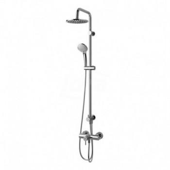 IDEALRAIN DUO COL. doccia S/Miscelatore rubinetto esterno CR A5691AA