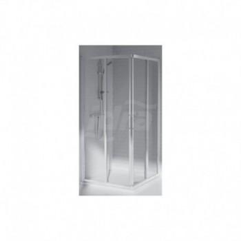 TIPICA A 73x91 BOX ANG. TRASP./bianco europa T2776AC - Box doccia in cristallo