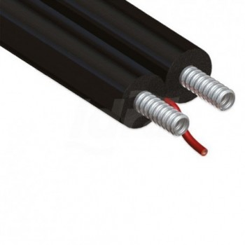 TWIN SOLAR SET TFA TUBO DN15 RIV. L.50m A01-0001-01898 - Tubi isolanti