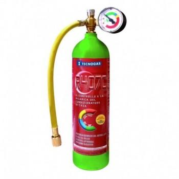 KIT BOMBOLA DI GAS REFRIGERANTE R407C (SOLAMENTE CON DEL PATENTINO F-GAS) 00000011279 - Altri materiali di consumo