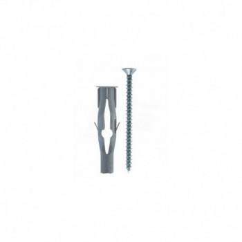 FU 6x45 V TASSELLO NYLON C/VITE TRUC. T.S.P. 00502352 - Collari/Staffe/Mensole
