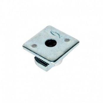 FCN CLIX M 8 DADO RETT. AGGANCIO C/PIASTRA 00504345 - Collari/Staffe/Mensole