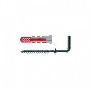 Duopower 6/2 Tassello bi-materiale con gancio medio 6 x 30 mm, per Muro pieno, Mattone Forato, Cartongesso FIS00541744