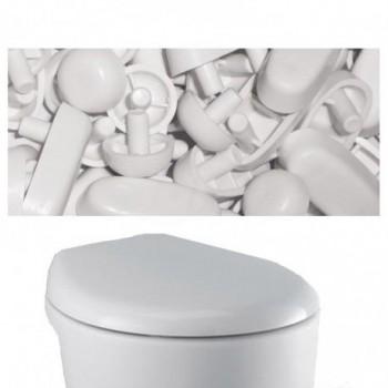 SET PARACOLPI X sedile slim T6615/J5055 bianco europa IDST623901