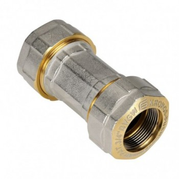 KRONOS E103 RACCORDO DIR. INTERM. TUBO FE ø2 E103N929 - Meccanici per tubi acciaio / ferro