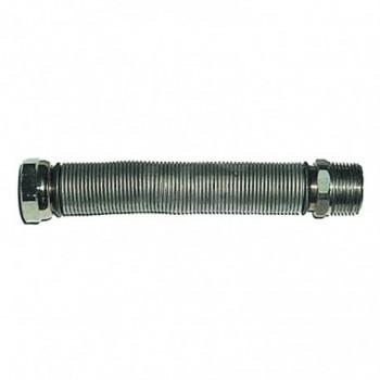 """Flessibile estensibile per allacciamento acqua - caldaia senza rivestimento bianco ø1/2""""""""x75/130mm TCG00000016091"""