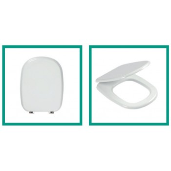 Ercos sedile tipo Tesi bianco cromo sedile universale ERCBSOPE2
