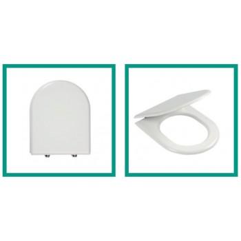 Ercos smart Esedra Clodia bianco cromo sedile universale BSOPE3