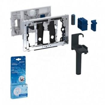 Sistema Geberit DuoFresh con igienizzante, per cassette da incasso Sigma 8 cm GEB115.063.21.1