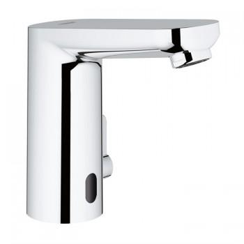EUROSMART C. E 36327 Miscelatore rubinetto elettronico per lavabo con comando ad infrarossi e limitatore di temperatura regol...