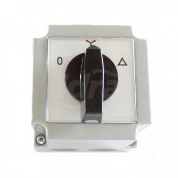 Avviatore stella-triangolo per motori 46s e 68s, unico avolgimento con kilxon (protezione termica). SAB3021019