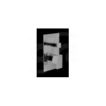 DOX Miscelatore rubinetto MONOC. doccia incasso +DEV. CR in e DO95100CR - Gruppi per docce