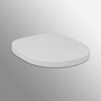 CONNECT sedile bianco europa con cerniere inox IDSE712801