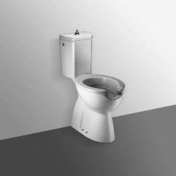 ATLANTIS sedile senza coperchio METACRILATO bianco IDSJ278100