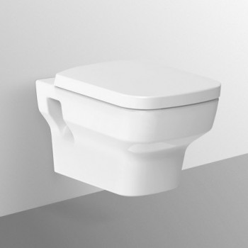 Vaso WC Ideal Standard Tesi Design Wc Sospeso Con sedile Bianco Europeo IDST327301